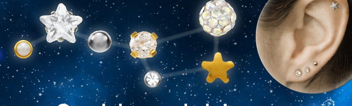 Constelação de brincos: Uma nova tendência?