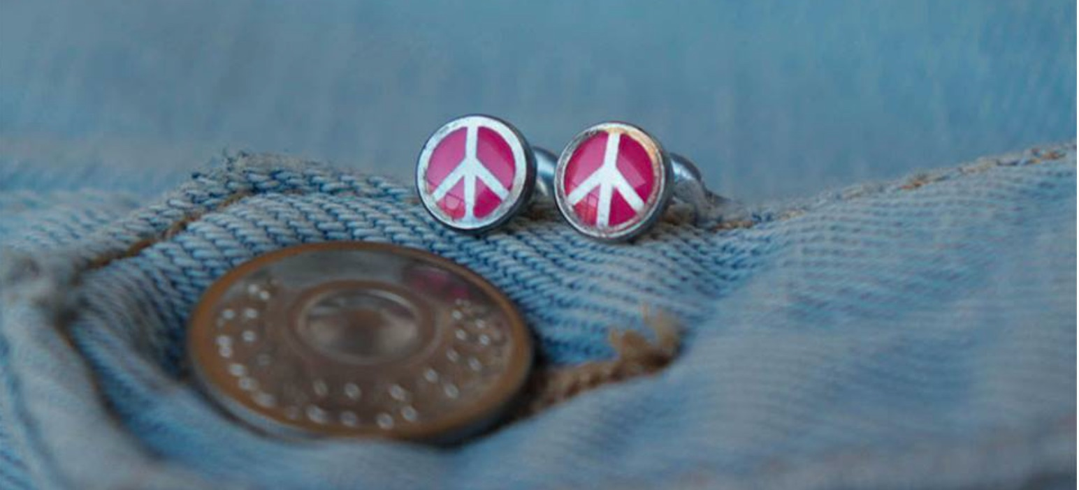Summer Jewelry 2018: Festival Style with Peace Signs